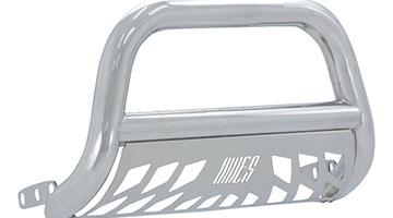 Aries 3 inch bull bar stainless finish knockout