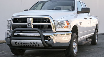 Aries 3 inch pro series bull bar on a Dodge Ram 2