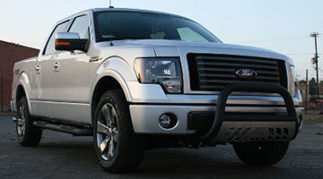 Aries 3 inch pro series bull bar on a Ford F-150