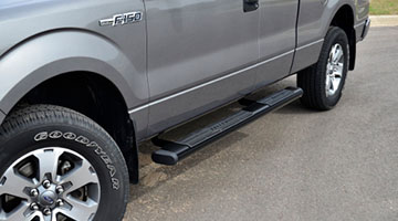 Aries 6 inch oval bars on a Ford F-150