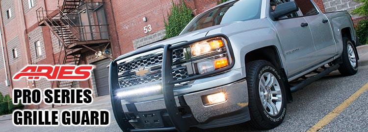 Aries Pro Series Grille Guard header