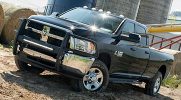 Aries Ridgestep Commercial Boards on a Dodge Ram