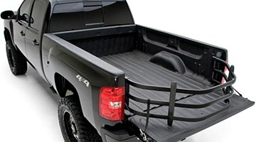 Bed Xtender HD Sport - Black Finish - Rear View