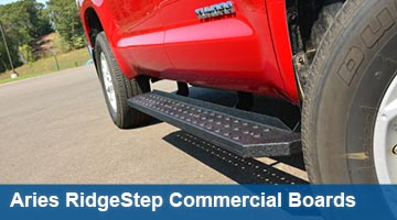 Aries 6.5 inch RidgeStep Commercial Running Boards