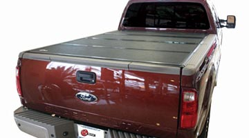 BakFlip G2 Tonneau Cover Installed on a Ford