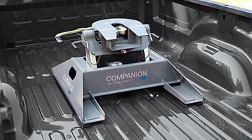 B&W Comapanion installed in truck