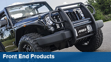 Aries Grille Guards & Bull Bars