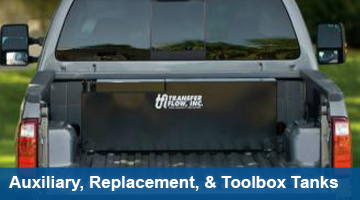 Shop for auxiliary, replacement & toolbox tanks