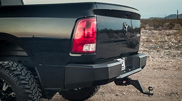 Magnum Rear Bumper on a Dodge Ram