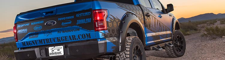Magnum Rear Bumper on a Ford F-150 Raptor