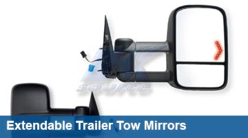 K-Source Extendable Tow Mirrors