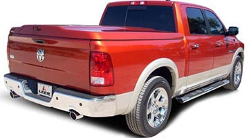Leer 700 Series Cover on a Dodge Ram