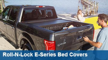 Roll-N-Lock E-Series Eletric Retractable Bed Cover