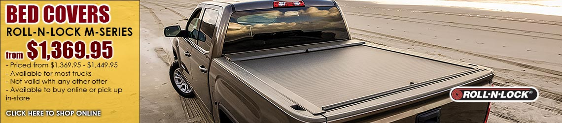 Roll-N-Lock M Series Bed Cover