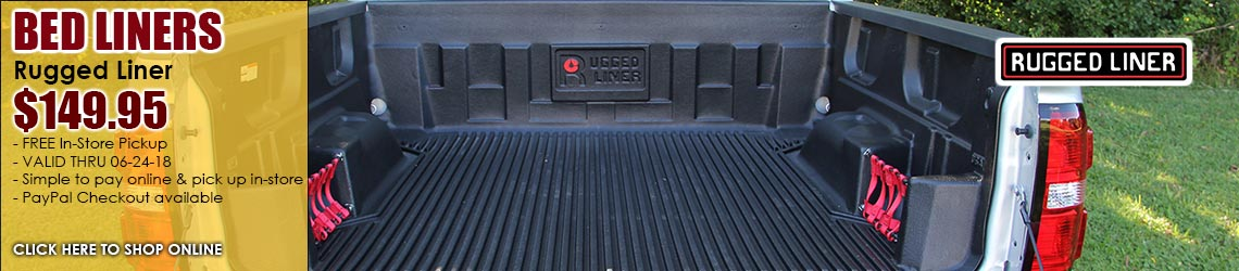 Rugged Bedliner $149.95 for a limited time