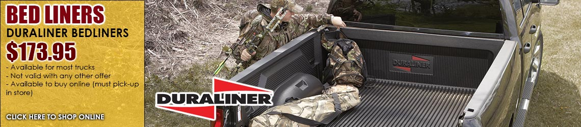 Duraliner Bedliner $149.95 for a limited time