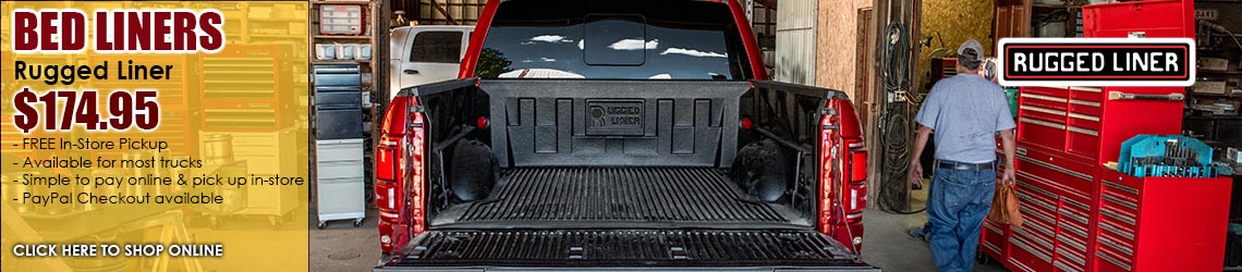 Rugged Bedliner $174.95