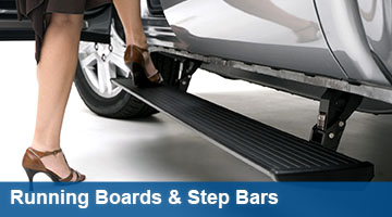 Trade in your step bars or running boards and get $50 - $150 for a new set