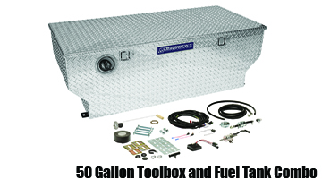 Transfer Flow 50 Gallon Toolbox Fuel Tank Combo - #16187