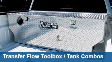 Transfer Flow Toolbox Fuel Tank Combos