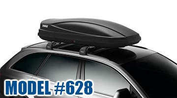 Thule 628 ForceL Cargo Box in black