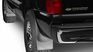Mud Flaps on a Chevy Tahoe