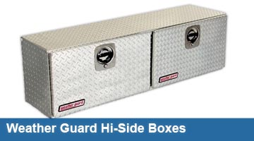 Truck Tool Boxes - Hi-Side Boxes