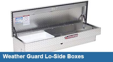 Truck Tool Boxes - Lo-Side Boxes