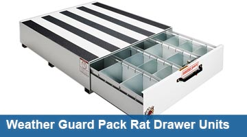 Weather Guard Pack Rat Drawer Units