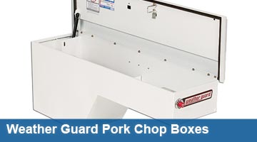 Truck Tool Boxes - Pork Chop Boxes