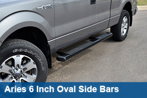 Aries 6 Inch Oval Side Bars