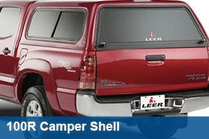 LEER 100R Camper Shell - Cab High