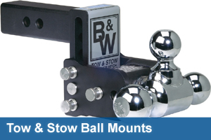 B&W Tow & Stow Ball Mounts
